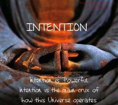 The power of intention ≈♥≈