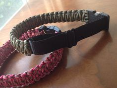 A personal favorite from my Etsy shop https://www.etsy.com/listing/252394928/adjustable-paracord-dog-collar