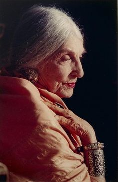 Beatrice Wood, Close up at 100, Picture by Marlene Wallace