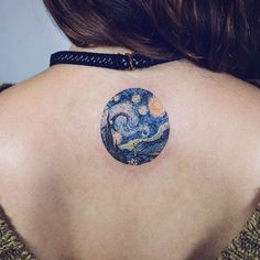 19 Awesome Tattoos Inspired By Fine Art | UltraLinx