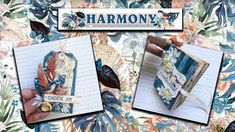 Our first Makes With MINTAY 'Harmony' Scrapbook Collection.. Play Day, Choose Joy, Craft Shop, Instagram Accounts, Scrapbook Paper, Layouts, Classy, Album, Make It Yourself