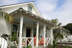 Rental cottages in Carpinteria, CA, right on the beach.