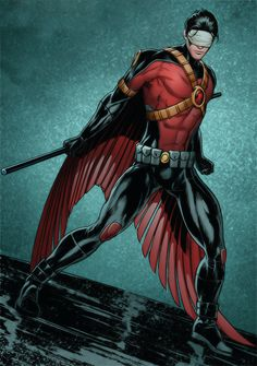 Red Robin in Grayson # -- Tim Drake is really growing on me