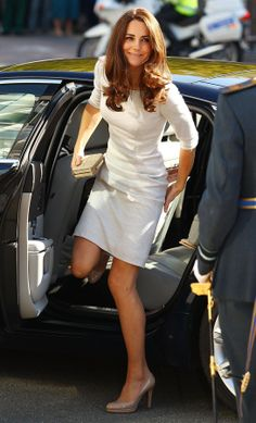 The Kate Middleton Look Book - The Cut - September 29, 2011 - dress by Amanda Wakeley