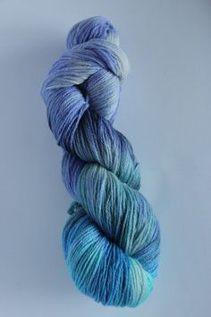 Beautiful colors! hand dyed sock weight yarn by Arctickrafts on Etsy