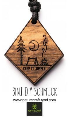 #holzschmuck #naturschmuck #vegan #schmuckausholz #DIY #nature  Für unsere Schmuckstücke wird kein Baum gefällt! Wir verwenden ausschließlich Schnittreste aus dem Wald. Vegan, Keep It Simple, Bottle Opener, Diy Jewelry Necklace, Woodland Forest, Vegans