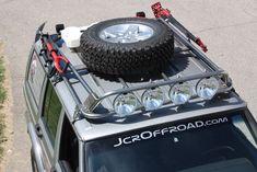JcrOffroad, Inc. Jeep Cherokee XJ Utility Rack - Base Rack