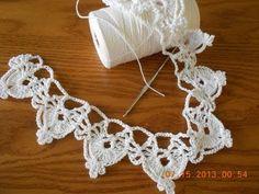 Orilla medias lunas tejido crochet. Link download: http://www.getlinkyoutube.com/watch?v=hdKltG9utB8