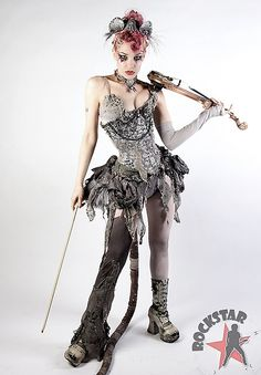 Emilie Autumn - Industrial Victorian...well you really can't describe her music.