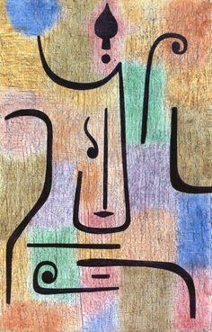 Archangel. 1938. Paul Klee .   The Athenaeum