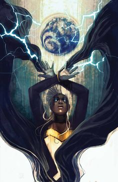 Storm - Marvel Comics hell yes this series just gets better & better. Storm issue Double tap picture to buy comic Comic Book Characters, Comic Book Heroes, Marvel Characters, Comic Books Art, Comic Art, Book Art, Marvel Comics, Marvel Now, Marvel Heroes