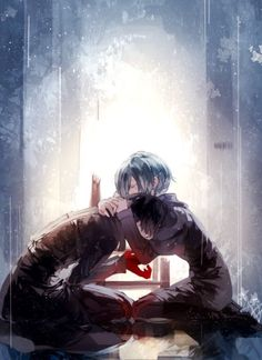 >>> Touka and Kaneki art