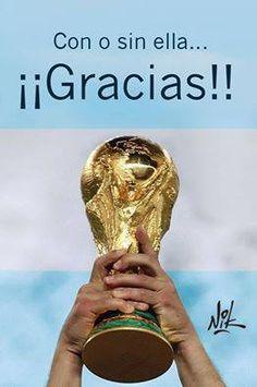 #Argentina #sub-campeón mundial