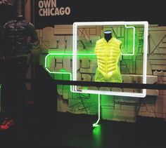Nike Chicago Marathon Last October I got work on some artwork with the fine folks at Nike for the 2013 Chicago Marathon. They did an amazing job taking art and turning into displays, apparel and in store prints. Big kudos to South South West on turning neighborhoods in to concrete displays.