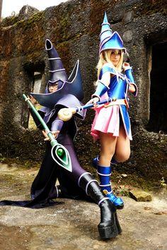 Dark Magician Yu-Gi-Oh #cosplay