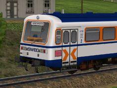 Triebwagen NE81 SWEG VT120