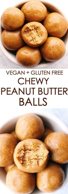 Chewy Peanut Butter Balls | Posted By: DebbieNet.com