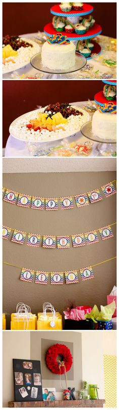 Wintery Rainbow 1st Birthday Party #partydecor #1stbirthday #rainbowparty