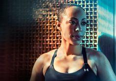 Split Color Portrait Lighting - Blair Bunting