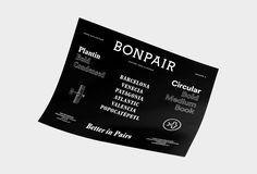 Bonpair Brand Specimen   VISUALGRAPHC