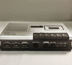 Panasonic Vintage Micro Cassette Recorder (2 Speed) RQ-195 by HailleysCloset on Etsy