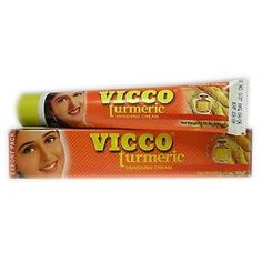 Buy Vicco Turmeric Cosmetic Skin Cream With Sandalwood Oil | Provedic Worldwide - Free Shipping Indian Herbal Supplements Online Store