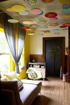 for a baby room, as they spend most of their time looking at the ceiling