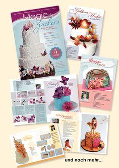Magie des Zuckers Oktober 2013 Cover, Books, Art, Designer Bags, October, Birthday, Tutorials, Wedding, Art Background