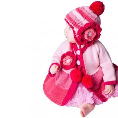 Pink Ombre Beanie Hat for Girls Ecommerce Platforms, Baby Gift Sets, Cute Hats, Baby Hats, Beanie Hats, Mittens, Winter Hats, Crochet Hats, Teddy Bear