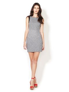 Speckled Cotton Combo Dress by Greylin on Gilt.com