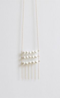 Contemporary porcelain jewelry - By Loumi