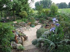 majoRahn - ein Garten in Rheinhessen: Abgetaucht - Die Entstehung unseres Senkgartens