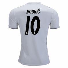 a57cf904f 2018-19 Cheap Jersey Real Madrid Modric Home Replica Soccer Shirt  CFC857   Real