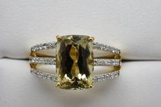 2-88-Ct-Zultanite-18-Ct-Diamond-Ring-14k-Solid-Gold-Rare-Sz-7-YG-RA00187