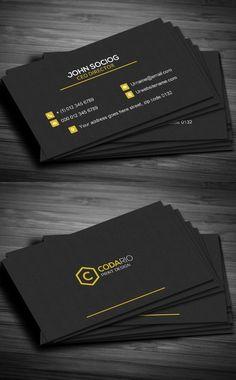 modern business card template businesscards psdtemplates