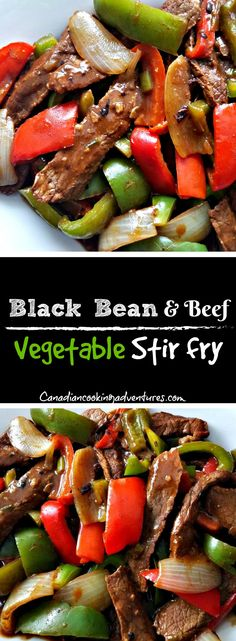 Black Bean & Beef Vegetable Stir fry  Black Bean & Beef Vegetable Stir fry  #blackbeans #blackbean #bean #stirfry #chinese  #lowcarb #carbfree #glutenfree #recipe #chinesefood #recipes #recipe #foodie #food #foodgram #foodie #foodblogger #eatingspoon #cookoff #canadiancookingadventures #beef #redpepper #greenpeppers #peppers #vegtables #tasty #nomnom #yum