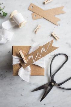DIY mariage, personnaliser ses cadeaux d'invités