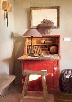 EN MI ESPACIO VITAL: Muebles Recuperados y Decoración Vintage: Una casa de campo en Bélgica { A farm house in Belgium }