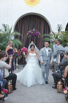 Photography: Bryan N. Miller Photography - bmillerweddings.com Floral Design: La Mirada Wedding Flowers - weddingflowers4less.biz  Read More: http://www.stylemepretty.com/california-weddings/fullerton/2013/02/12/fullerton-wedding-at-villa-del-sol-from-bryan-n-miller-photography/