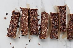 Chocolate, Fig & Buckwheat Brownie Bars - Viva