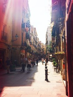 El Born, Barcelona, Spain Barcelona Spain, The Neighbourhood, Street View, The Neighborhood
