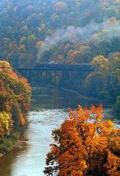 Train. Northpoint, Pennsylvania