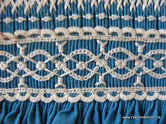 lace sampler, smock lace, heirloom sew, smock design