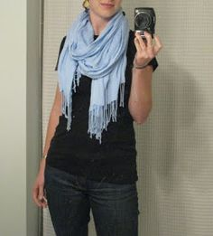 CREATE STUDIO: How to Tie A Scarf!