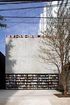 Livraria da Vila, São Paulo, 2007. By Isay Weinfeld.