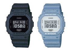 5e679a30560f G-Shock Debuts DW-5600DC Denim Color Series