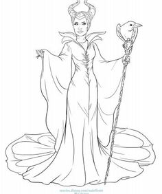 #MALEFICENT: Coloring and Activity Pages