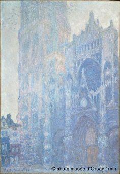 Musée d'Orsay  Claude Monet  La cathédrale de Rouen. Le portail et la tour Saint-Romain, effet du matin  en 1893