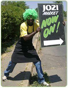 Jozi Food Market in Greenside, Johannesburg.