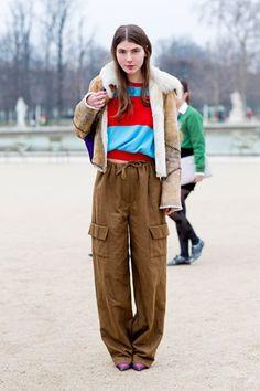 Semana de la moda en París.